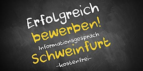 Bewerbungscoaching Online kostenfrei - Infos - AVGS  Schweinfurt Tickets