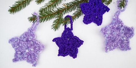 Crochet your own Christmas Stars tickets