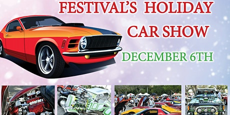 Festival's Holiday Car Show - Free Entry For Spectators tickets