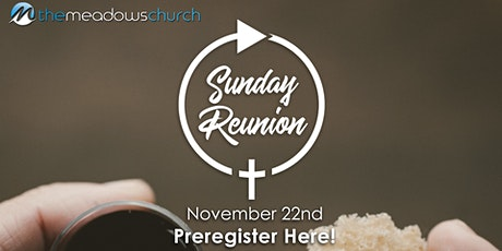 Reunion | November 22nd tickets