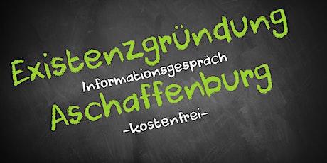 Existenzgründung Online kostenfrei - Infos - AVGS  Aschaffenburg Tickets
