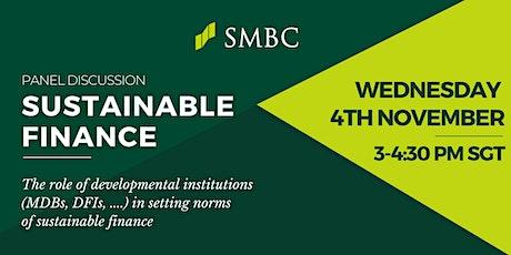 Sustainable Finance tickets