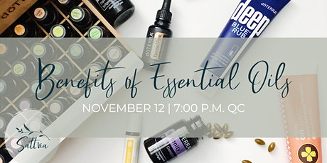 Discover the benefits of essential oils by Vicky Ouimette tickets