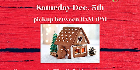 Annual Gingerbread House Decorating (All Ages- Take & Make) tickets