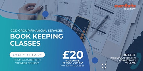 Bookkeeping for Small Businesses tickets