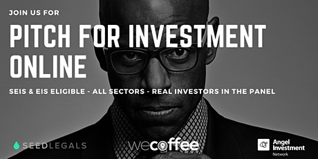 Pitch For Investment - Online tickets