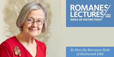 Romanes Lecture: 'Law in a time of crisis' tickets