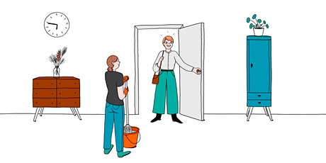 Ménage à domicile dans le cadre des Services à la Personne 10/12 billets