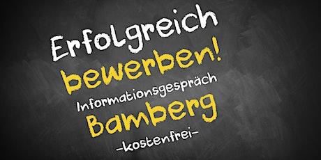 Bewerbungscoaching Online kostenfrei - Infos - AVGS Bamberg Tickets