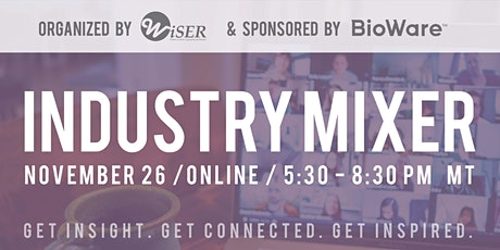 WiSER Virtual Industry Mixer 2020 tickets