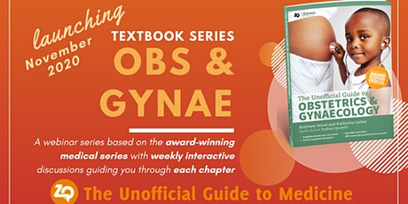 UGTM- Obstetrics and Gynaecology Textbook Webinar Series tickets
