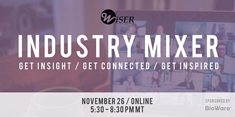 WiSER Virtual Industry Mixer 2020 | Company Registration tickets