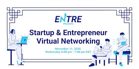 Startup & Entrepreneur Virtual Networking tickets