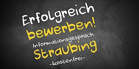 Bewerbungscoaching Online kostenfrei - Infos - AVGS  Straubing Tickets