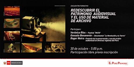 Redescubrir el patrimonio audiovisual y uso de material de Archivo entradas