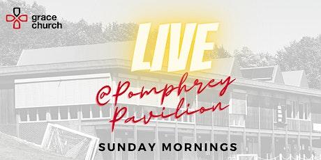 Sunday Service 11:30am @ Pomphrey Pavilion (1st November 2020) tickets