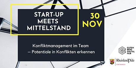 Konfliktmanagement im Team – Potenziale in Konflikten erkennen Tickets