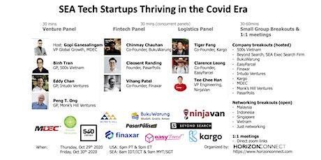 SEA Tech Startups Thriving in the Covid Era tickets