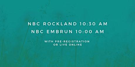 Embrun - Sunday Service 10:00 AM (November 1st, 2020) tickets
