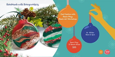 Handmade with the Honeycombers: Get Festive with Resin Play tickets