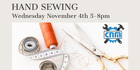 Sewing Essential Series with Miranda - Hand Sewing tickets