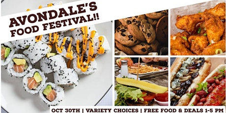 Avondale's Food Festival tickets