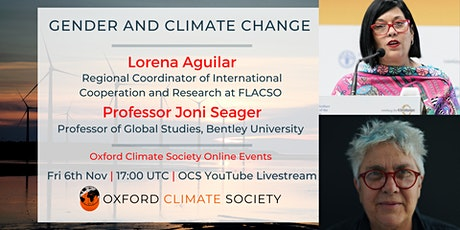 Gender and Climate Change tickets