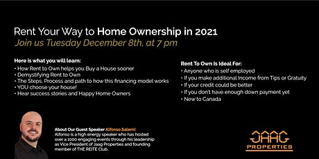 How to Rent Your Way to Home Ownership in 2021 tickets
