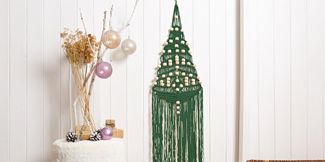 MACRAME CHRISTMAS TREE WORKSHOP WITH WOOL COUTURE - FREE tickets