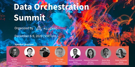 Data Orchestration Summit 2020 Virtual tickets