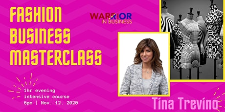 Fashion Business Masterclass: One Night Intensive Course with Tocaya CEO tickets