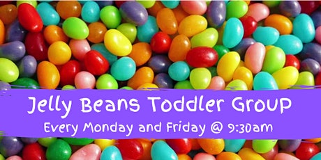 Jelly Beans parent and toddler group tickets