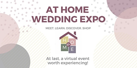 At Home Wedding Expo - NY Metropolitan Area tickets