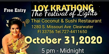 Thai Street Food Festival and Loy Krathong Holiday Celebration tickets