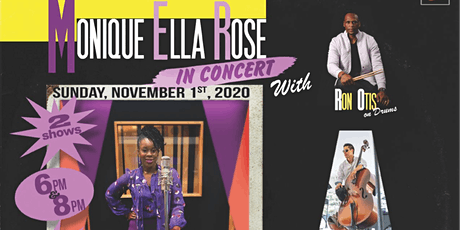 Monique Ella Rose in Concert at Cliff Bell's Jazz Club tickets