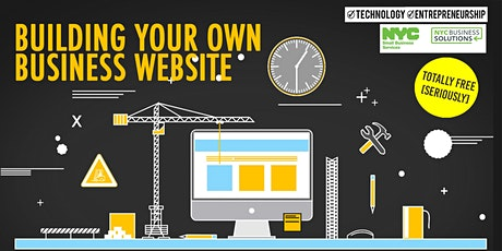 Building Your Own Business Website_DreamCenterHarlem_Virtual_11/05/2020 tickets