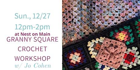 Crochet a Granny Square w Jo! tickets