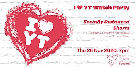 I ♥ YT Watch Party: Socially Distanced Shorts tickets