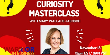 Warrior Women's Business Coaching MASTERCLASS with Mary Wallace Jaensch tickets