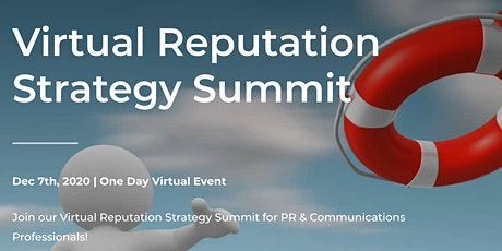 The Virtual Reputation Strategy Summit tickets