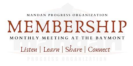 November 2020 MPO Membership Meeting tickets