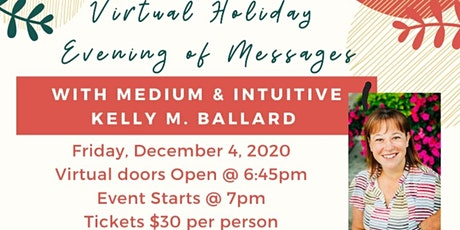 Virtual Holiday Evening of Messages tickets