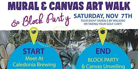 Dunedin Art Crawl & Canvas Reveal tickets