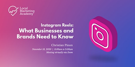 Instagram Reels: What Businesses and Brands Need to Know tickets