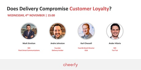 Cheerfy Talks: Does Delivery Compromise Customer Loyalty? tickets