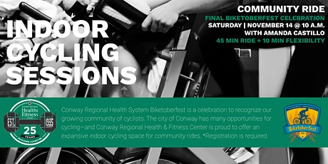 Biketoberfest  Indoor Cycling Final Celebration with Conway Regional tickets