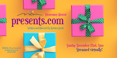 MoCo Arts-Elementary Musical 'Presents.com' tickets
