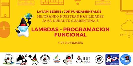 Mejorando habilidades Java en tiempos de cuarentena Sesión 5 boletos