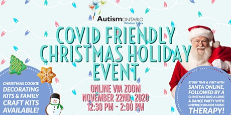 COVID Friendly Christmas Holiday Event - Family Craft & Cookie Kits tickets