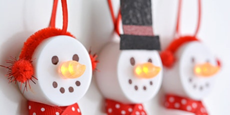 Snowman Ornaments tickets